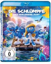 Die Schlümpfe - Das verlorene Dorf (Blu-ray), Blu-ray Disc
