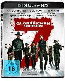 Die glorreichen Sieben (2016) (Ultra HD Blu-ray & Blu-ray), 1 Ultra HD Blu-ray und 1 Blu-ray Disc