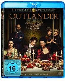 Outlander Staffel 2 (Blu-ray), 6 Blu-ray Discs