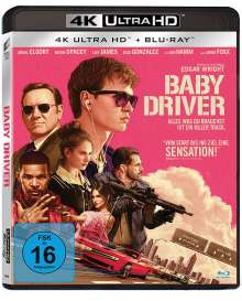 Baby Driver (Ultra HD Blu-ray & Blu-ray), 1 Ultra HD Blu-ray und 1 Blu-ray Disc