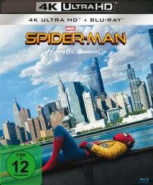 Spider-Man: Homecoming (Ultra HD Blu-ray & Blu-ray), 1 Ultra HD Blu-ray und 1 Blu-ray Disc