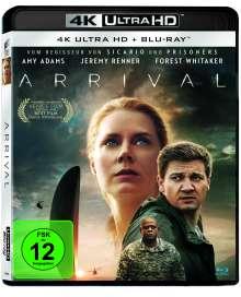 Arrival (Ultra HD Blu-ray & Blu-ray), 1 Ultra HD Blu-ray und 1 Blu-ray Disc