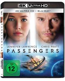 Passengers (2016) (Ultra HD Blu-ray & Blu-ray), 1 Ultra HD Blu-ray und 1 Blu-ray Disc