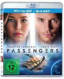Passengers (2016) (3D & 2D Blu-ray), 2 Blu-ray Discs