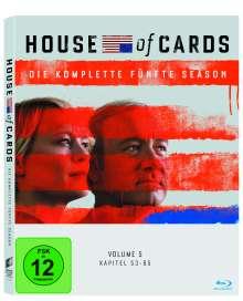 House Of Cards Season 5 (Blu-ray), 4 Blu-ray Discs