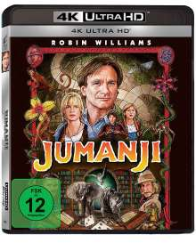 Jumanji (Ultra HD Blu-ray), Ultra HD Blu-ray