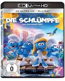 Die Schlümpfe - Das verlorene Dorf (Ultra HD Blu-ray & Blu-ray), 1 Ultra HD Blu-ray und 1 Blu-ray Disc
