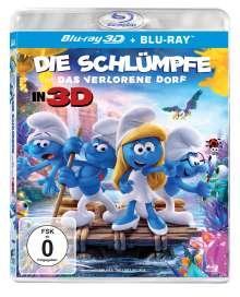 Die Schlümpfe - Das verlorene Dorf (3D & 2D Blu-ray), 2 Blu-ray Discs