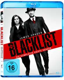 The Blacklist Staffel 4 (Blu-ray), 6 Blu-ray Discs