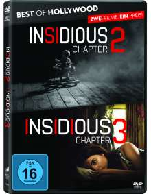 Insidious: Chapter 2 / Insidious: Chapter 3, 2 DVDs