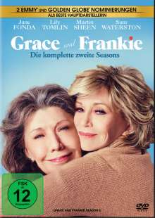 Grace and Frankie Staffel 2, 4 DVDs