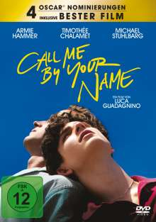 Call me by your name, DVD