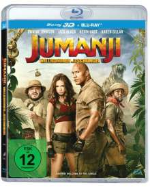 Jumanji: Willkommen im Dschungel (3D & 2D Blu-ray), 2 Blu-ray Discs