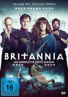 Britannia Staffel 1, 3 DVDs