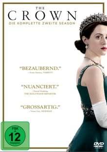 The Crown Staffel 2, 4 DVDs