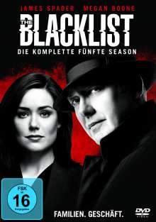 The Blacklist Staffel 5, 6 DVDs