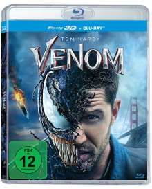Venom (3D & 2D Blu-ray), 2 Blu-ray Discs