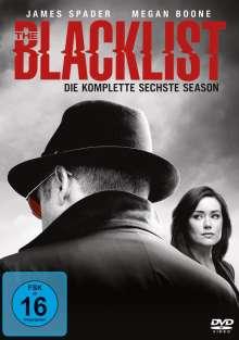 The Blacklist Staffel 6, 6 DVDs