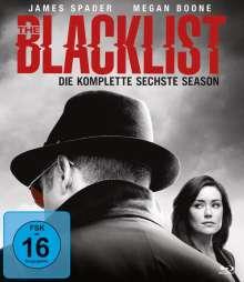 The Blacklist Staffel 6 (Blu-ray), 6 Blu-ray Discs