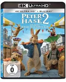 Peter Hase 2 - Ein Hase macht sich vom Acker (Ultra HD Blu-ray), Ultra HD Blu-ray