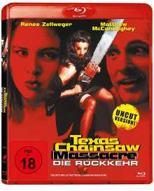 Texas Chainsaw Massacre: Die Rückkehr (Blu-ray), Blu-ray Disc