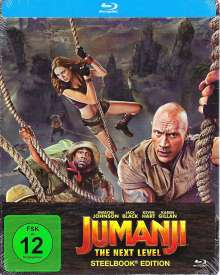 Jumanji: The Next Level (Blu-ray im Steelbook), Blu-ray Disc