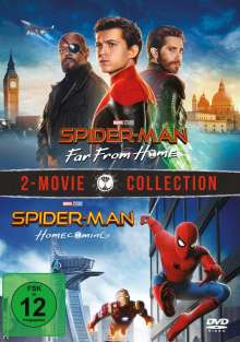 Spider-Man: Far from home / Spider-Man: Homecoming, 2 DVDs