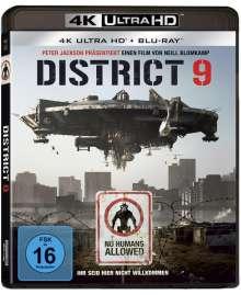 District 9 (Ultra HD Blu-ray & Blu-ray), 1 Ultra HD Blu-ray und 1 Blu-ray Disc