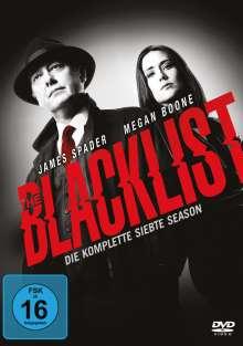 The Blacklist Staffel 7, 5 DVDs