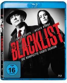 The Blacklist Staffel 7 (Blu-ray), 5 Blu-ray Discs