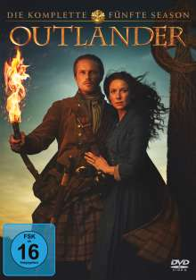 Outlander Staffel 5, 4 DVDs
