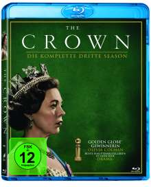 The Crown Staffel 3 (Blu-ray), 4 Blu-ray Discs