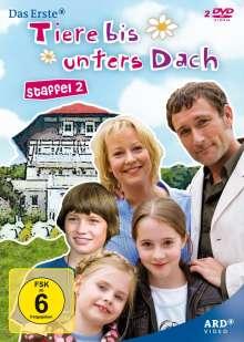 Tiere bis unters Dach Staffel 2, 2 DVDs