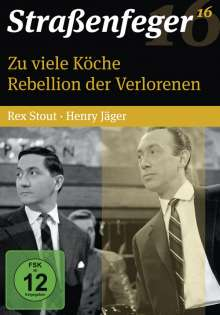 Straßenfeger Vol.16: Zu viele Köche / Rebellion der Verlorenen, 4 DVDs