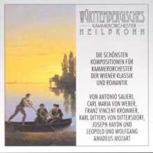 Württembergisches Kammerorchester - Klassik bis Romantik, 2 CDs