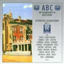 ABC der Gesangskunst in Deutschland - Gesangslexikon 5, 2 CDs