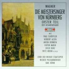 Richard Wagner (1813-1883): Die Meistersinger von Nürnberg (1.Teil), 2 CDs
