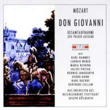 Wolfgang Amadeus Mozart (1756-1791): Don Giovanni (in dt.Spr.), 2 CDs