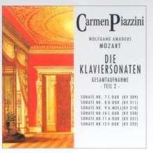 Wolfgang Amadeus Mozart (1756-1791): Klaviersonaten Nr.1-18 Vol.2, 2 CDs