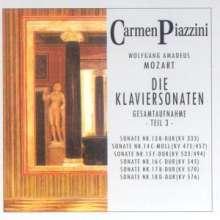 Wolfgang Amadeus Mozart (1756-1791): Klaviersonaten Nr.1-18 Vol.3, 2 CDs
