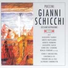 Giacomo Puccini (1858-1924): Gianni Schicchi (2 Gesamtaufnahmen), 2 CDs