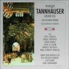 Richard Wagner (1813-1883): Tannhäuser (1.Teil), 2 CDs