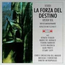 Giuseppe Verdi (1813-1901): La Forza del Destino (1.Teil), 2 CDs