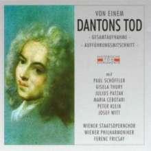 Gottfried von Einem (1918-1996): Dantons Tod, 2 CDs