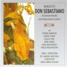Gaetano Donizetti (1797-1848): Don Sebastiano, 2 CDs