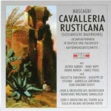 Pietro Mascagni (1863-1945): Cavalleria Rusticana (Aufnahmen in italienischer & deutscher Sprache), 2 CDs