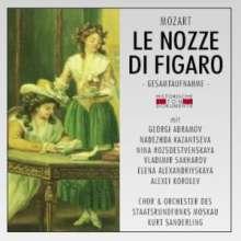Wolfgang Amadeus Mozart (1756-1791): Die Hochzeit des Figaro (in russ.Spr.), 2 CDs