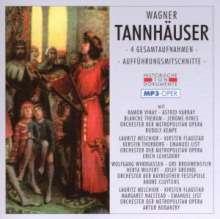 Richard Wagner (1813-1883): Tannhäuser (4 Gesamtaufnahmen im MP3-Format), 2 MP3-CDs
