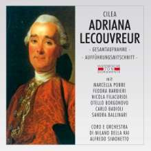 Francesco Cilea (1866-1950): Adriana Lecouvreur, 2 CDs
