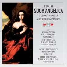 Giacomo Puccini (1858-1924): Suor Angelica (2 Gesamtaufnahmen), 2 CDs